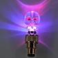 Crossbones Дизайн Красочные светодиодной вспышкой света автошины крышки клапана колеса