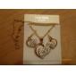 Femme Set de Bijoux Boucles d'oreille goutte Pendentif de collier Original Amour Elégant Mariage Soirée Anniversaire Fiançailles Quotidien