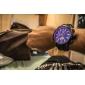 мужской авто-механического турбийон черный силиконовой лентой аналоговые наручные часы (разные цвета)