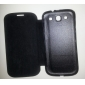 Solid Color Flip Folio PU Cover Case For Samsung Galaxy S3 I9300 (Assorted Colors)