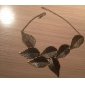 Women's Leaf Statement Jewelry Pendant Necklace Statement Necklace Alloy Pendant Necklace Statement Necklace , Party