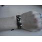 Z&X®  Leather Bracelet Multilayer Black Guatambu Bracelet