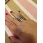 포도 수확 합금 다중 행 반지 (분류 된 색깔)