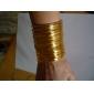 lureme®gold покрытием намотки профилированного сплава браслет