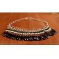 Women's Choker Necklaces Statement Necklaces Drop Jewelry Acrylic Alloy Tassel Bohemian Vintage Festival/Holiday Costume Jewelry