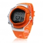 Unisex Calorie Counter Heart Rate Monitor Digital Wrist Watch (Orange) Cool Watch Unique Watch