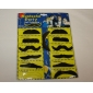 Stylish Costume Fake Mustache (Assorted 12-Pack)
