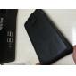 Virar para cima e para baixo Projetado Leather Case Full Body Preto PU para LG Optimus L7 P700