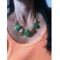 Повседневное ожерелье из сплава золотистого цвета