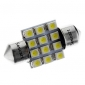 Festoon Car White 1W SMD 3528 6000-6500 Reading Light