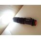 Lampes Torches LED LED 200 lm 1 Mode Cree XR-E Q5 Fonction Zoom Faisceau Ajustable Rechargeable Ultra léger Taille Compacte Petit