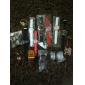 unisex preta de discagem silicone banda quartzo relógio de pulso analógico (cores sortidas)