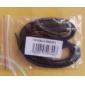 남성 오디오 잭 연결 케이블 (블랙) 1.2M에 남성 3.5 mm