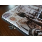 laptop tablet caso manga pattern postcard impermeável para 7