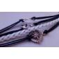 Women's Wrap Bracelet Leather Bracelet Handmade Personalized Vintage Fashion Multi Layer Costume Jewelry Leather Fabric Anchor Infinity