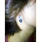 여성 바디 쥬얼리 Navel & Bell Button Rings 유니크 디자인 러브 패션 스테인레스 합금 Heart Shape 보석류 보석류 용 일상 캐쥬얼 1PC