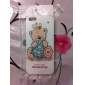 Bear with Crown Pattern Hard Case for iPhone 5/5S