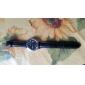 남자 캘린더 스타일 아날로그 석영 PU의 손목 시계 (모듬 색상)