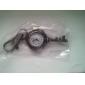 Retro Key of Unisex Alloy Analog Quartz Keychain Watch (Bronze)
