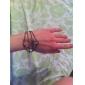 cristaux de lureme®vintage cerfs bracelet de charme de la tête