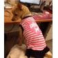 강아지 드레스 강아지 의류 통기성 문자와 숫자 하트 핑크 코스츔 애완 동물