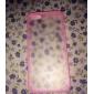 아이폰 5/5S용 투명 안개서림 디자인 하드 케이스 (다양한 색상)