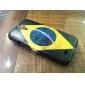 Motif brésilien IMD cas dur pour Samsung Galaxy i9500 S4