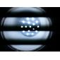 15W E26/E27 LED Corn Lights 86 SMD 5050 550-580lm Natural White 6500K AC 110-130 AC 220-240V