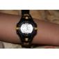아동 스포츠 시계 패션 시계 디지털 시계 디지털 알람 달력 크로노그래프 LCD 고무 밴드 블랙 레드 오렌지 그린 핑크 노란색
