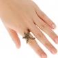 Anéis Diário / Casual Jóias Liga Feminino Anéis GrossosAjustável