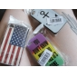 Vintage USA Flag Pattern Full Body Case for iPhone 4/4S