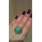 Alliances Bijoux Alliage / Gemme / Turquoise Bagues Affirmées5 Argent / Vert