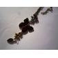 Drop Glaze Butterfly Vintage Necklace