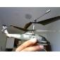SYMA S102G 3.5 canaux infrarouge mini hélicoptère télécommande avec gyroscope (vert d'armée, 6xAA)
