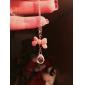 Femme Pendentif de collier Cristal Forme de Noeud Acrylique Alliage Bijoux Pour Quotidien