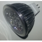 4W 270 lm GU5.3(MR16) Lâmpadas de Foco de LED MR16 4 leds LED de Alta Potência Branco Quente DC 12V