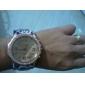 여자의 표범 작풍 PU 아날로그 석영 손목 시계 (분류 된 색깔)