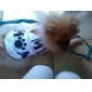 Chien Tee-shirt Vêtements pour Chien Lettre et chiffre Blanc Costume Pour les animaux domestiques