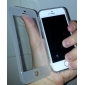 Solid Color Clamshell Designed Transparent TPU Soft Full Body Case for iPhone 5/5S (Assorted Colors)