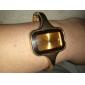 Жен. Модные часы Часы-браслет Кварцевый сплав Группа Кольцеобразный Elegant Золотистый