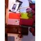 Etui en Cuir PU pour iPhone 4/4S - Noir