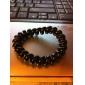 Mode plastique noir Cravates Hair for Kids (Noir)