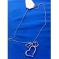 Pendentif de collier Forme de Coeur Alliage Amour Cœur Bijoux Pour Quotidien