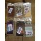 fitas caso padrão rígido para iphone 4 e 4S (preto)