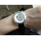 WINNER Мужской Наручные часы Механические часы С гравировкой Механические, с ручным заводом PU Группа Люкс Черный