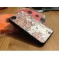 Lovely Cat Pattern Pasting Skin Plastic Case for iPhone 4 4S