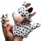 2PCS 부모 - 자식 손 및 손가락 인형 유제품 Cattles