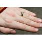 남성용 여성 밴드 반지 의상 보석 티타늄 스틸 보석류 제품 일상 캐쥬얼 크리스마스 선물