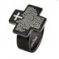 eruner®unisex крестообразный Писание стальное кольцо