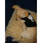 Gato Cachorro Camiseta Roupas para Cães Caveiras Corações Amarelo Azul Azul/Amarelo Vinho Preto/Amarelo